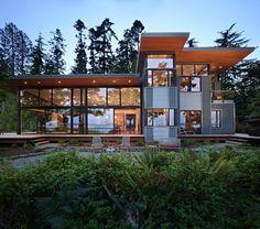 Elegant Northwest Home Design ...