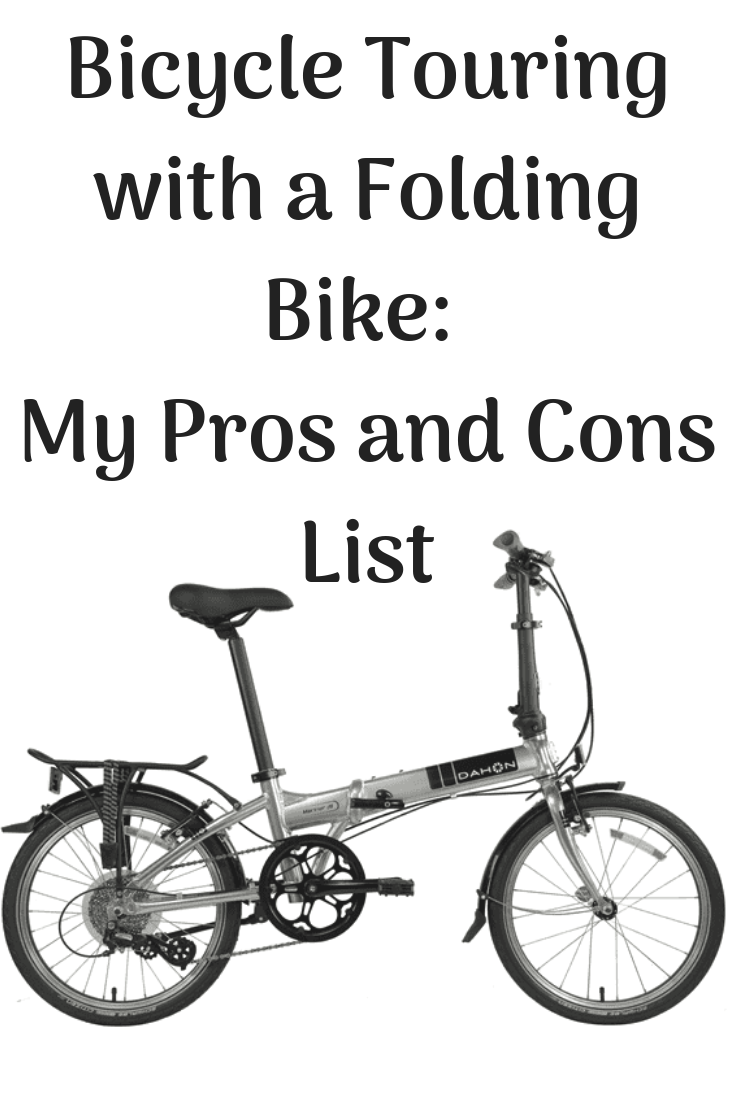 The Best Folding Bike For Touring My Pros And Cons List Bike