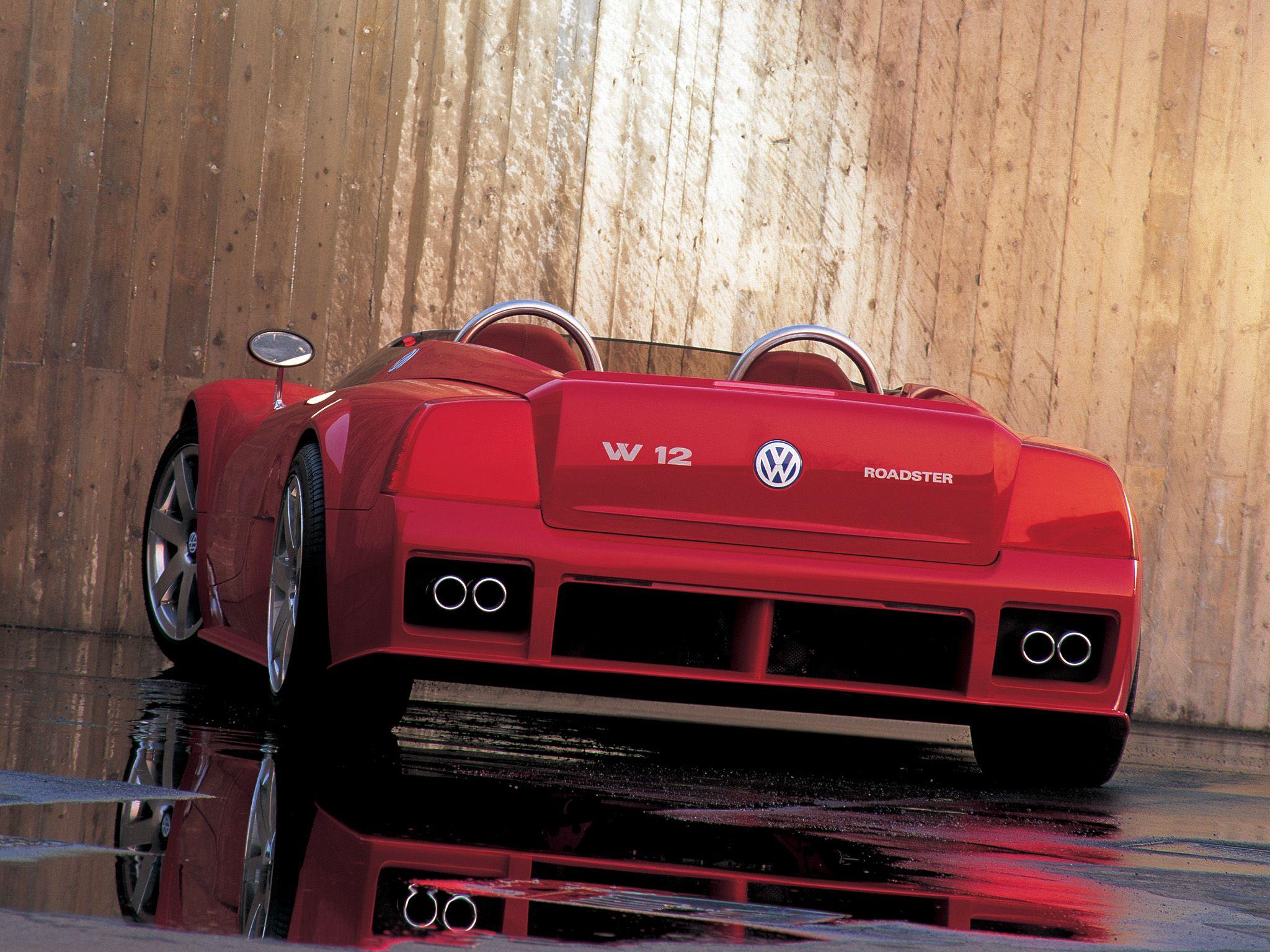 Volkswagen W12 Roadster Concept 1998 GIUGIARO