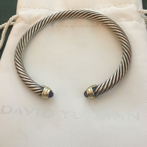 38e6342581a659 I have too many of these DY cable bangles and am trying to sell for something  more unique! David Yurman Jewelry Bracelets