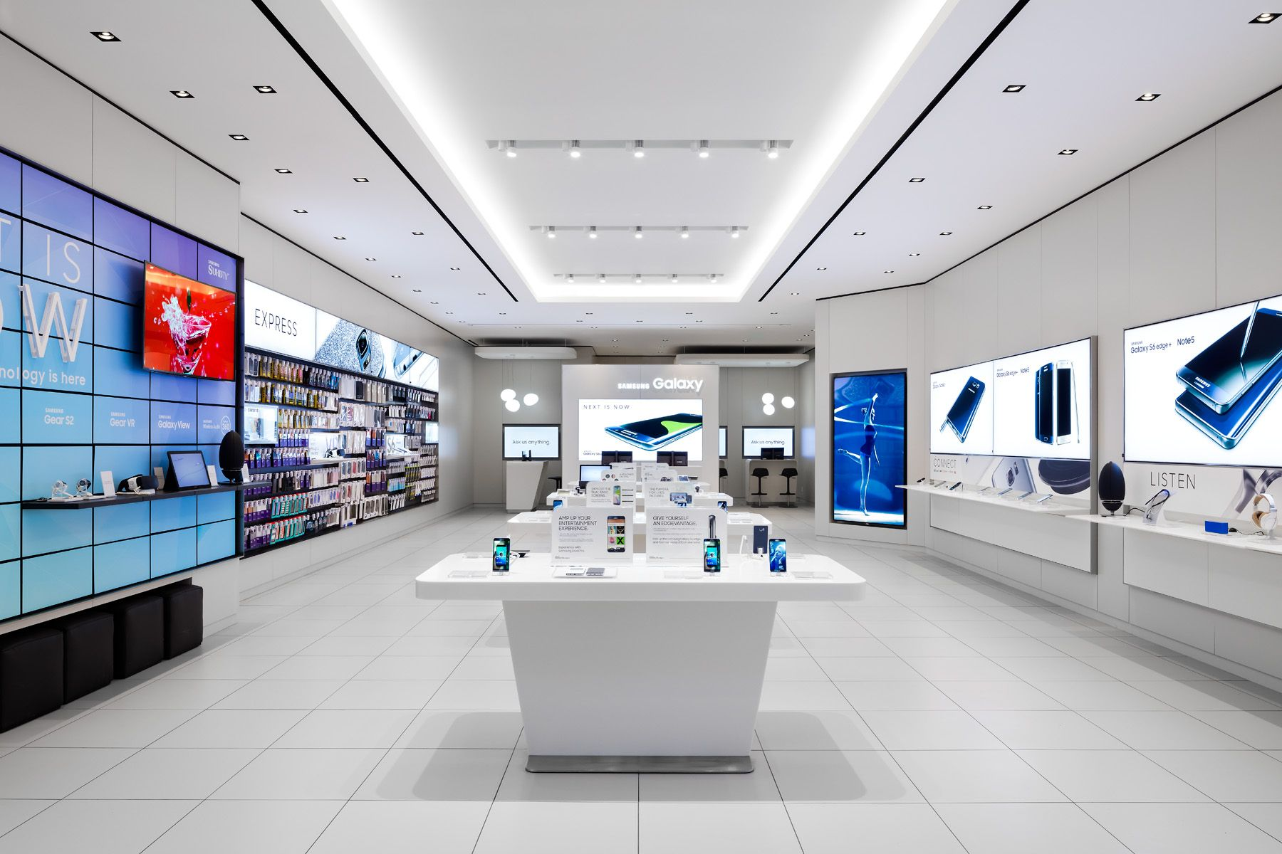 Samsung Interior Design Case Study With Images Store Design