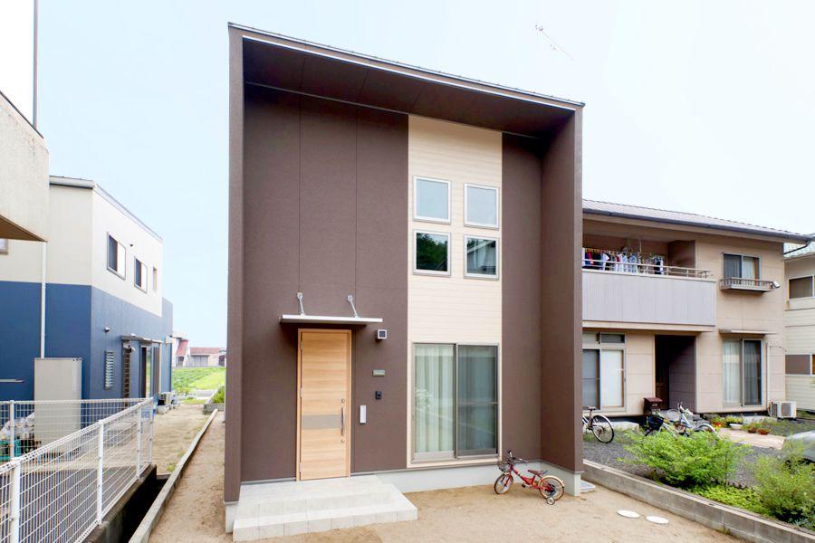 小さいけどかっこいい家 ハウス 新築 住宅 新築一戸建て