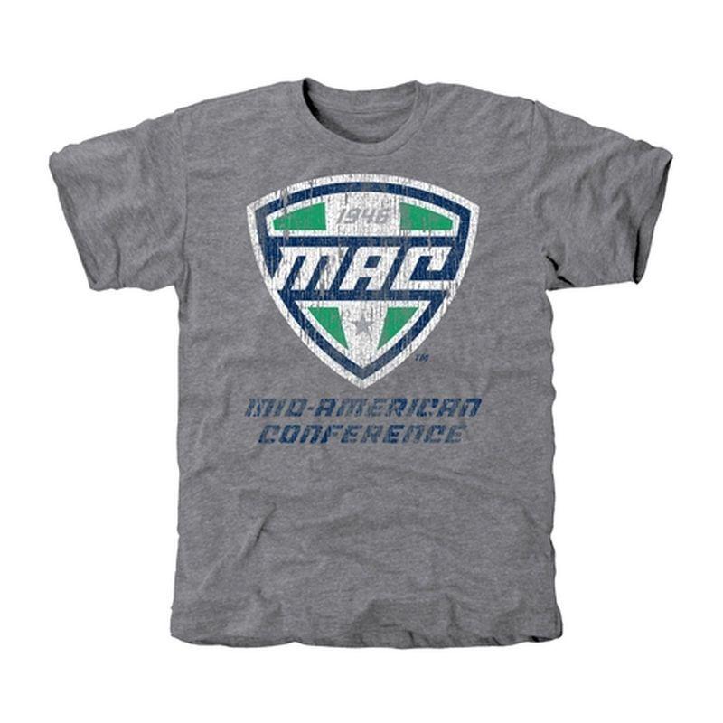 MAC Gear Distressed Tri-Blend T-Shirt - Ash