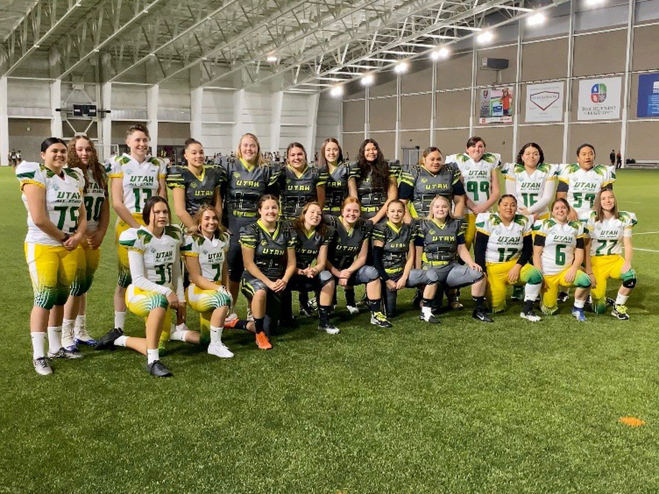 Players From Utah Girls Tackle Football League Invited To Pro Bowl In 2020 Tackle Football Football League Girl Football Player