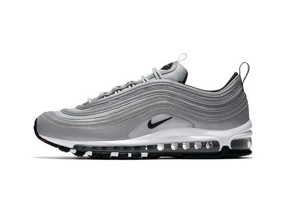 Nike Covers The Air Max 97 With Reflective Silver | Air max 97, Air max and  Silver bullet