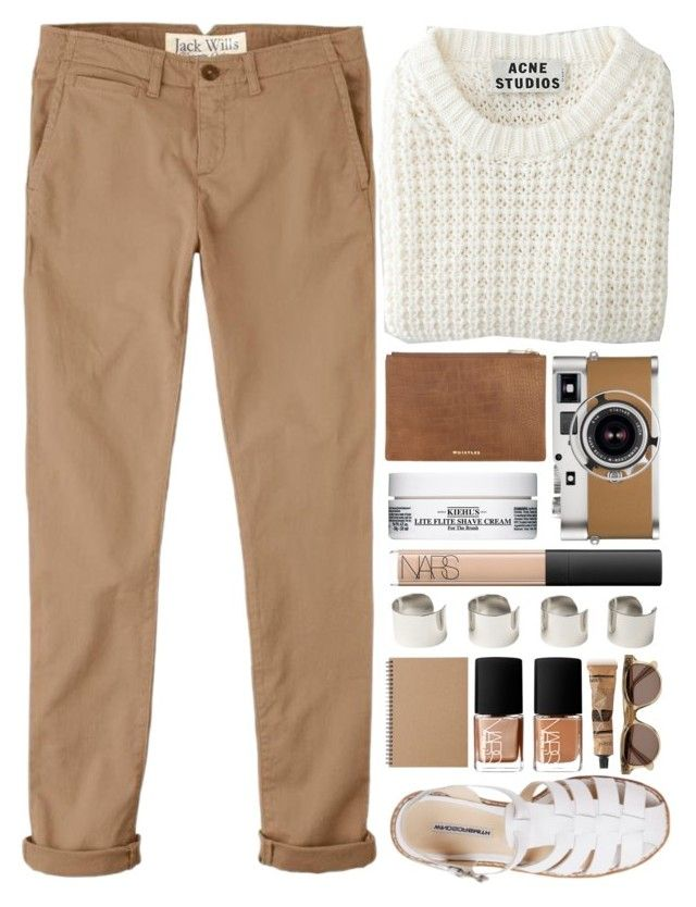"""silent"" by ferned ❤ liked on Polyvore featuring Jack Wills, Acne Studios, Hermès, Kiehl's, NARS Cosmetics, Maison Margiela, Muji, Illesteva and Aesop"
