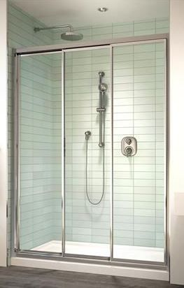 In Canada Triple Sliding Shower Doors With Images Sliding