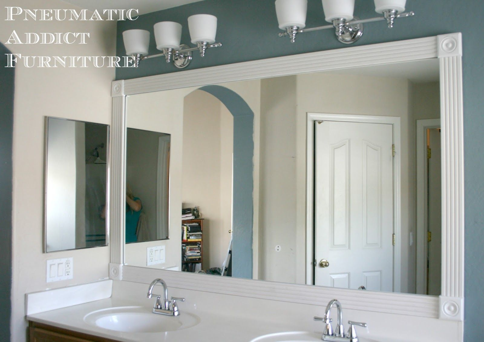 Tip for Adding Trim to a Wall Mirror { And $100 Giveaway ...