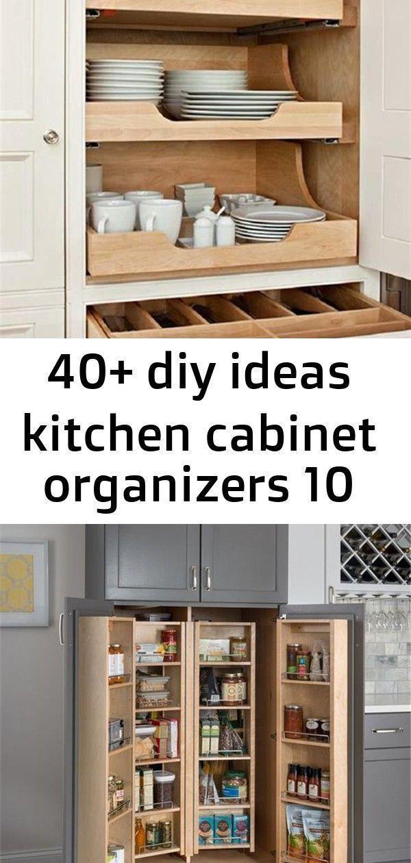 40+ diy ideas kitchen cabinet organizers 10 #cabinetorganizers 40 DIY Ideas Kitc...#cabinet #cabinetorganizers #diy #ideas #kitc #kitchen #organizers #cabinetorganizers