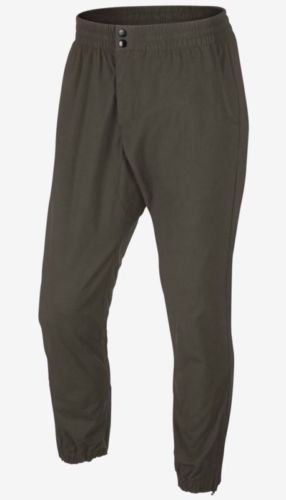 954012b15e01 NWT Nike V442 Woven Cuffed Jogger Tapered Pants Cargo 646605 325 Olive SZ S  Clothing