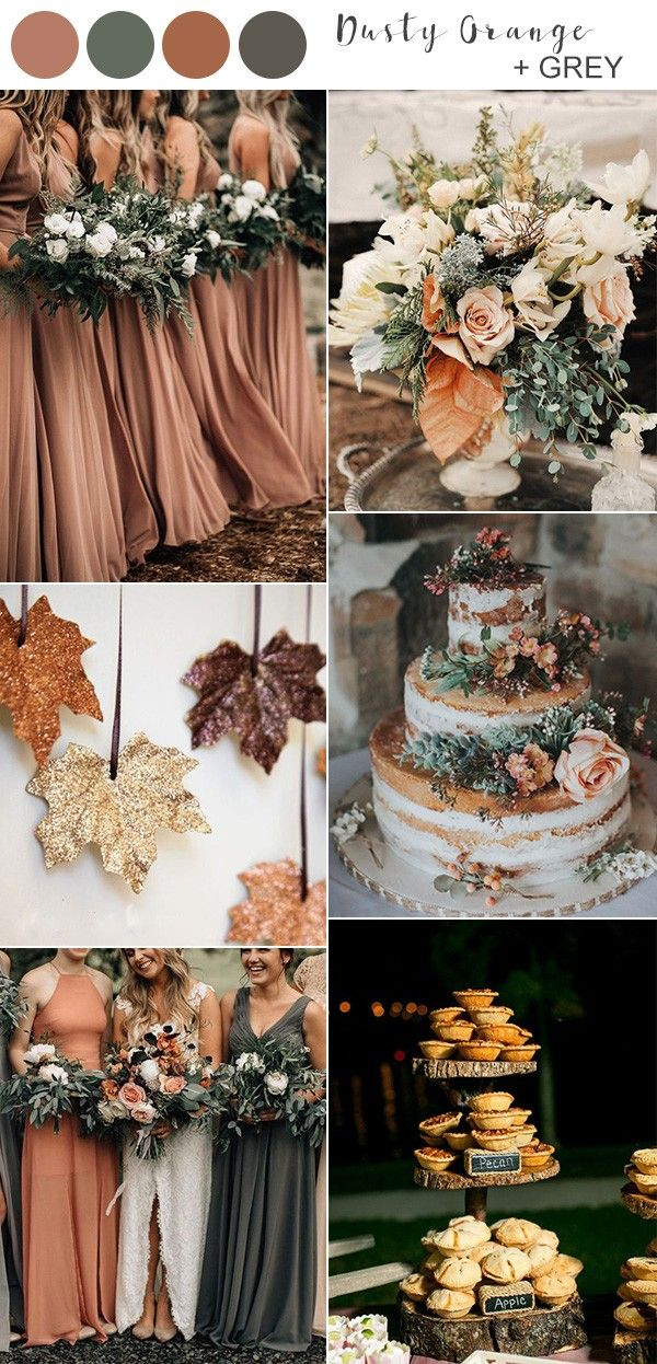 Top 10 Fall Wedding Colors for 2019 Trends You'll Love