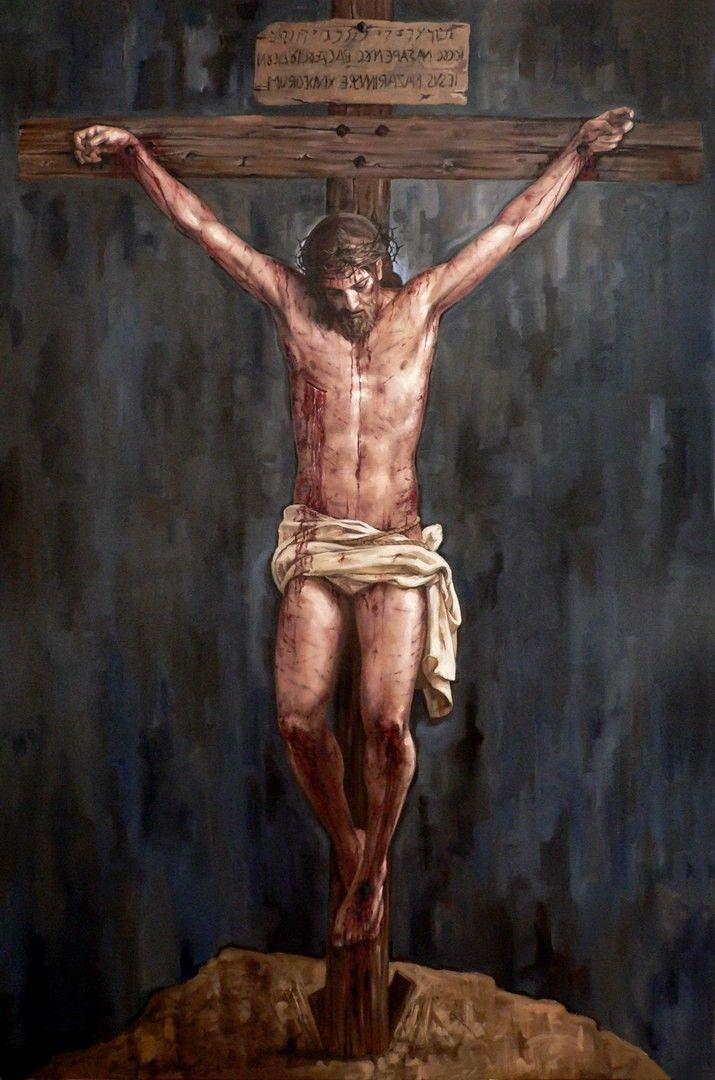 Jesus #JesusChrist #crucifixion | Crucifixion of jesus, Jesus christ  images, Jesus crucified