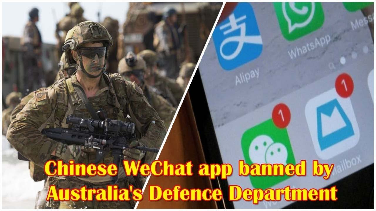 Australian Military Bans Chinese WeChat App Instant