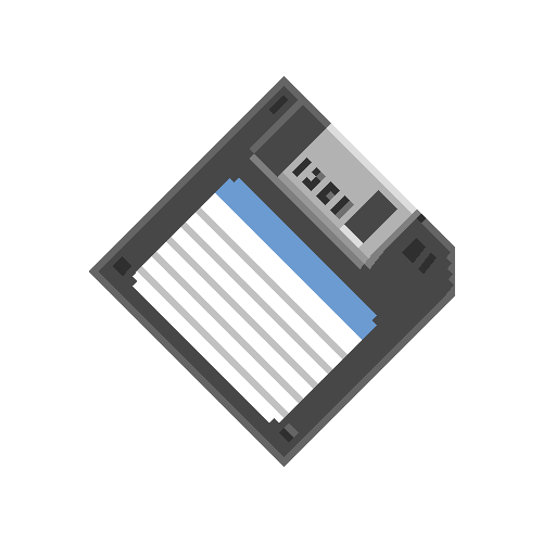 Pixelated 3d Floppy Disk On Funnygif Gif Funny Humor Floppy Disk Funny Gif Pixel