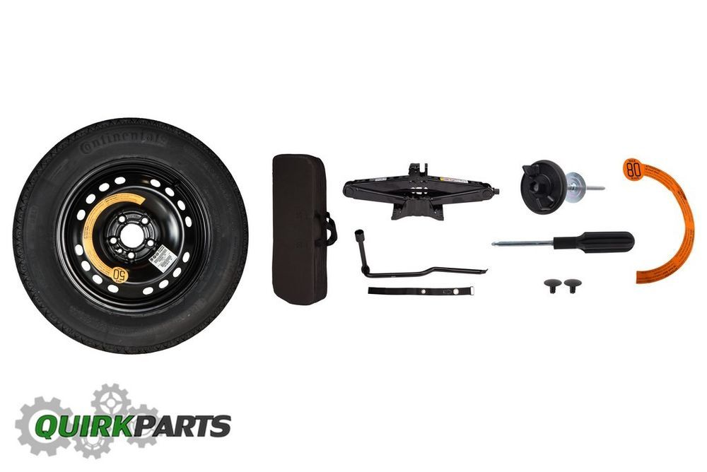 Jeep Renegade Fiat 500x Emergency Spare Tire Wheel Kit With