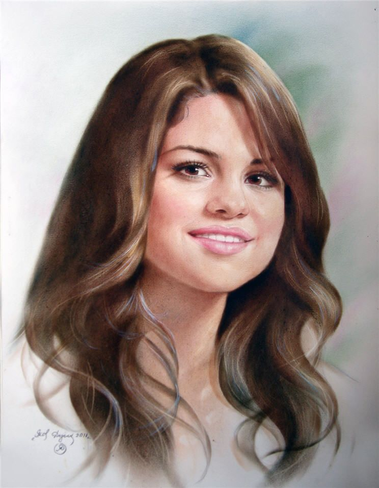 461. Selena Gomez by yakovdedyk.deviantart.com on @deviantART