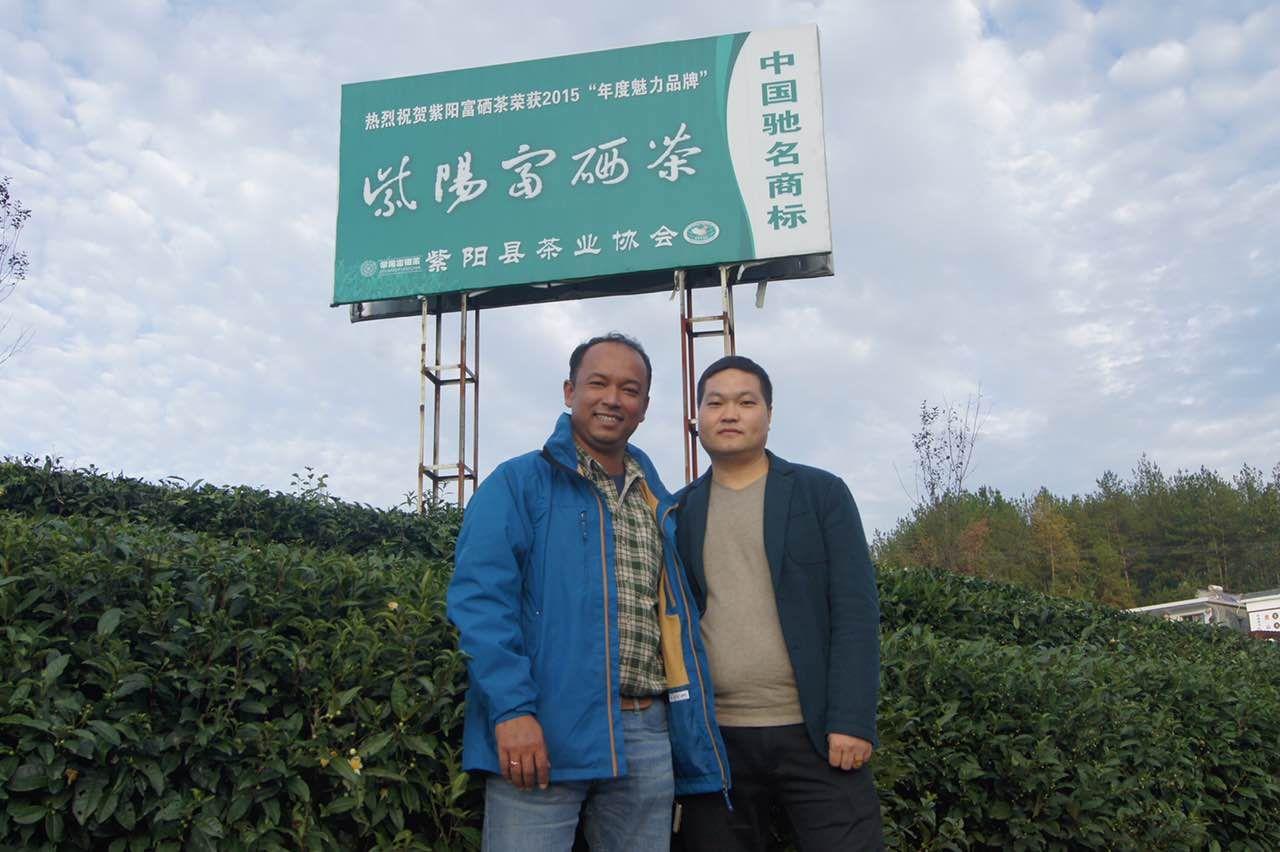 Ziyang Rich Selenium Tea Xifuyuan Setea With