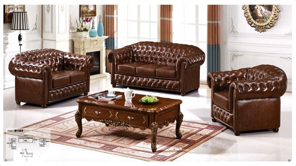 Iexcellent Modern Design Genuine Leather Sectional Sofa,sofa Set Living  Room Furniture Leather Sofa 1