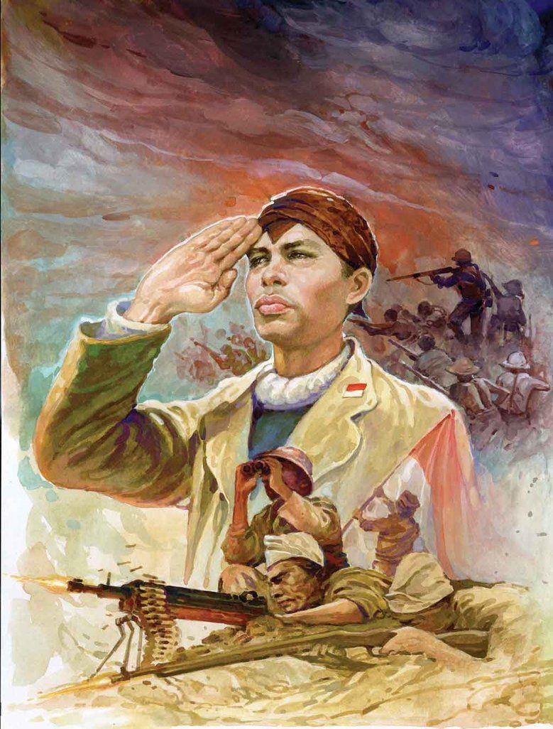 Foto Pahlawan Nasional Indonesia Beserta Namanya