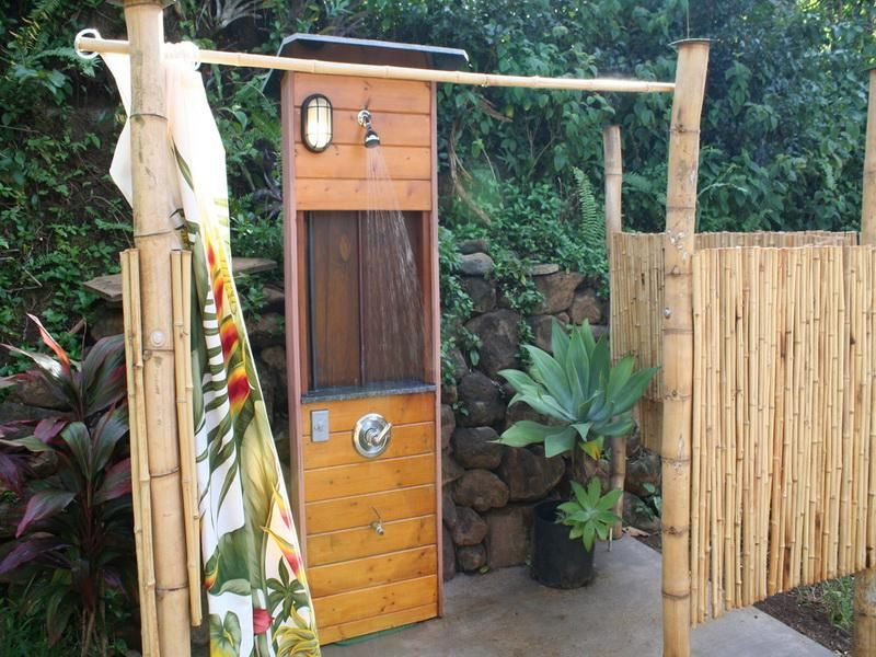 how to build diy outdoor shower plans simple outdoor shower plans
