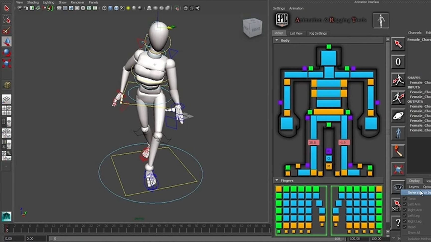 1 - Epic Games Animation and Rigging Toolkit | Animation Rigs