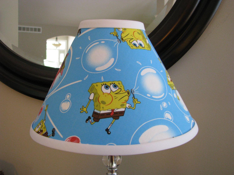 Lamp shade spongebob squarepants by zacharydickorydock on etsy lamp shade spongebob squarepants by zacharydickorydock on etsy aloadofball Choice Image