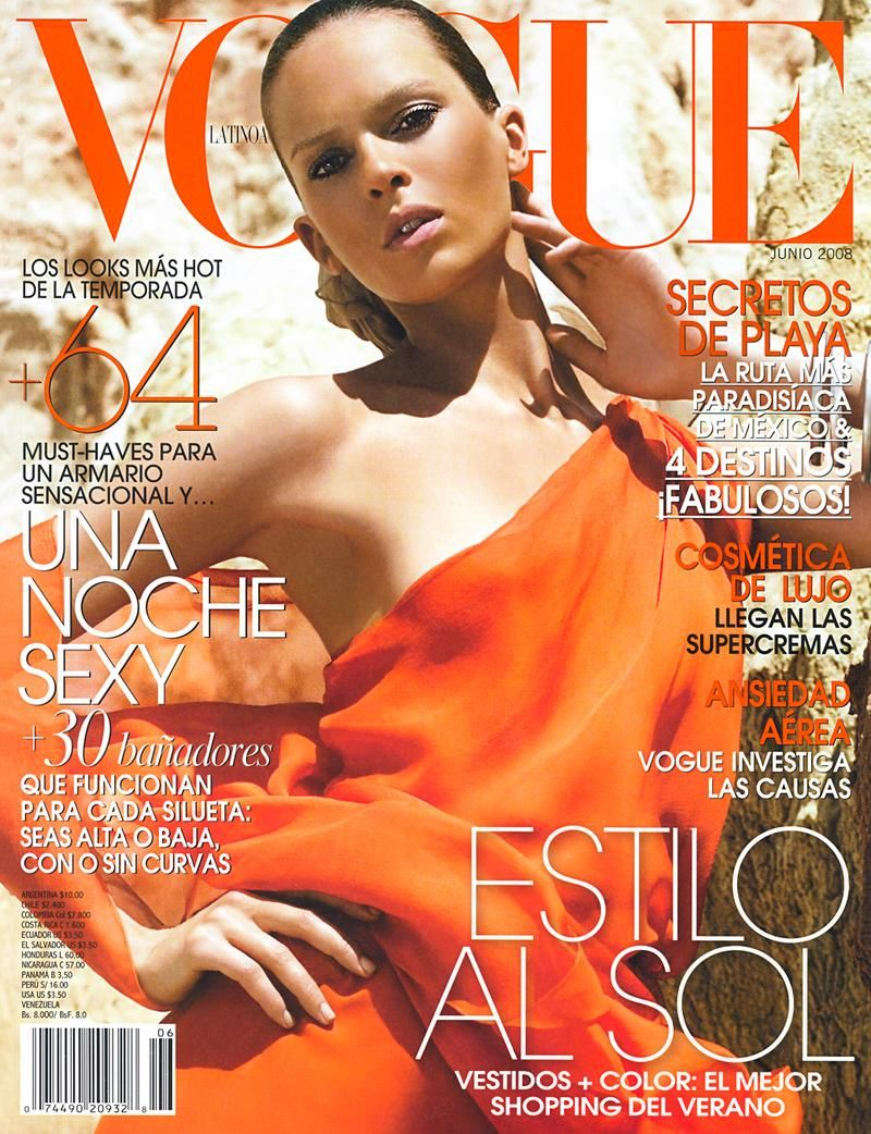 Elise Crombez  - Vogue Latino America June 2008