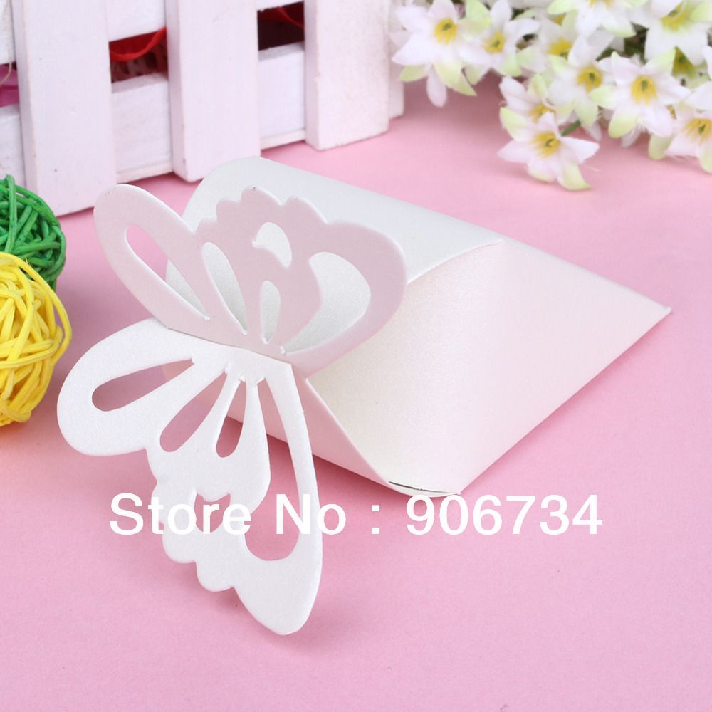 New Free Shipping High Quality 50 Pcs Cake Style for Wedding Party ...