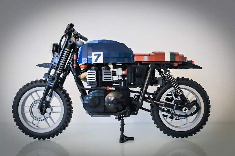These Custom LEGO Bikes Take A Year To Build