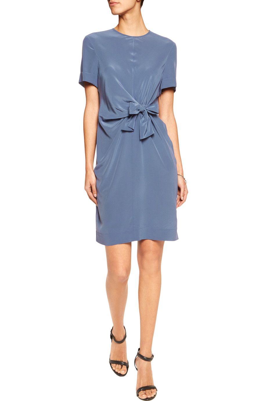 Iris and InkDaniella tie-front silk-crepe dress | Woman\'s apparel ...