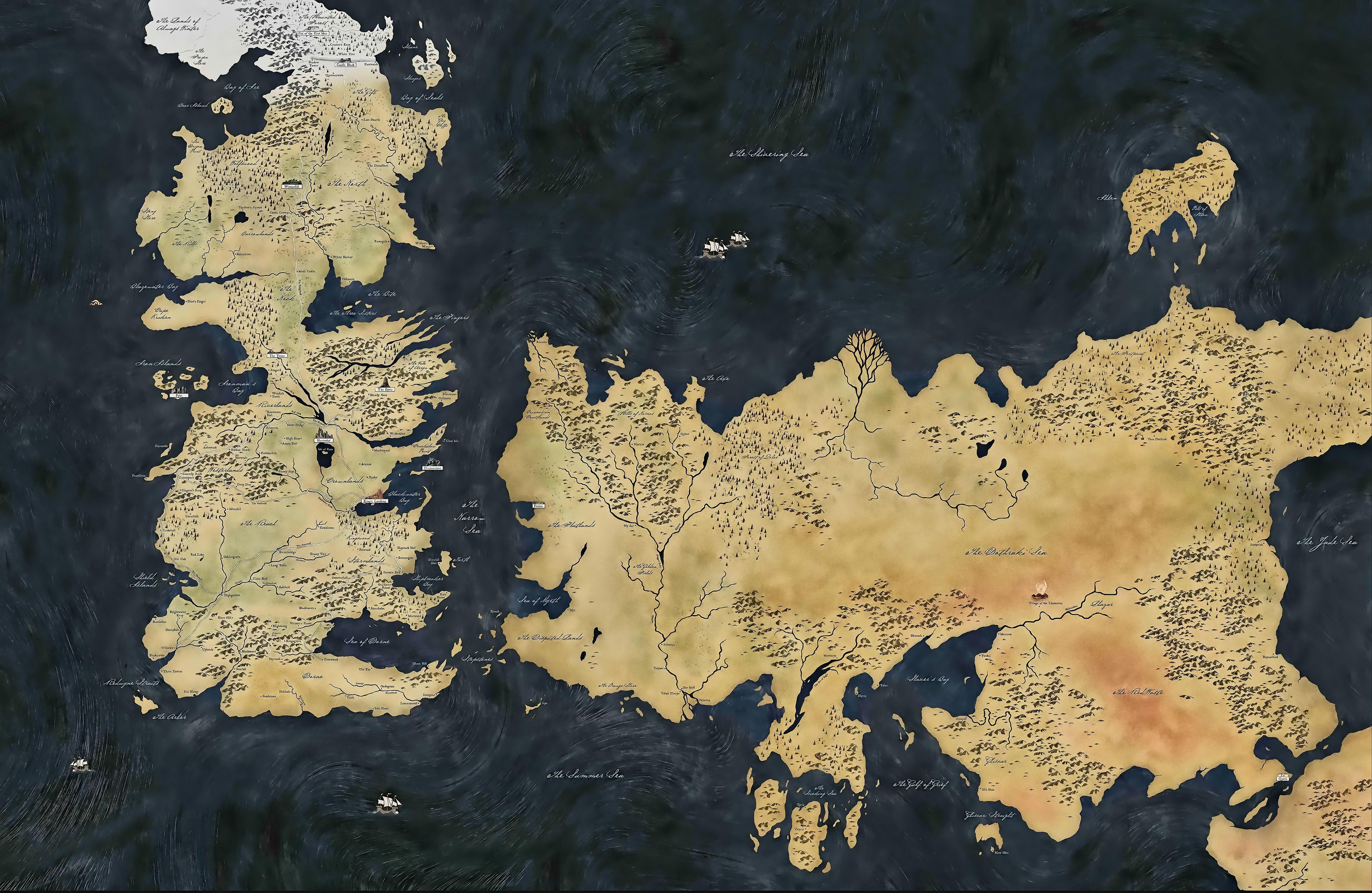 5000x3257 Game Of Thrones Map Wallpaper Wallpapersafari