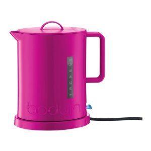 Bodum Wasserkocher bodum electric kettle pink pink fuschia magenta
