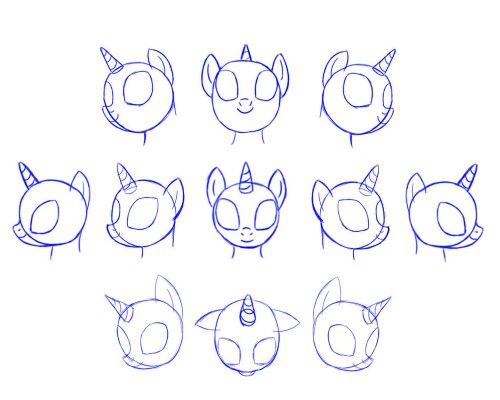 how to draw mlp 2 pony s head oodles of doodles in 2018