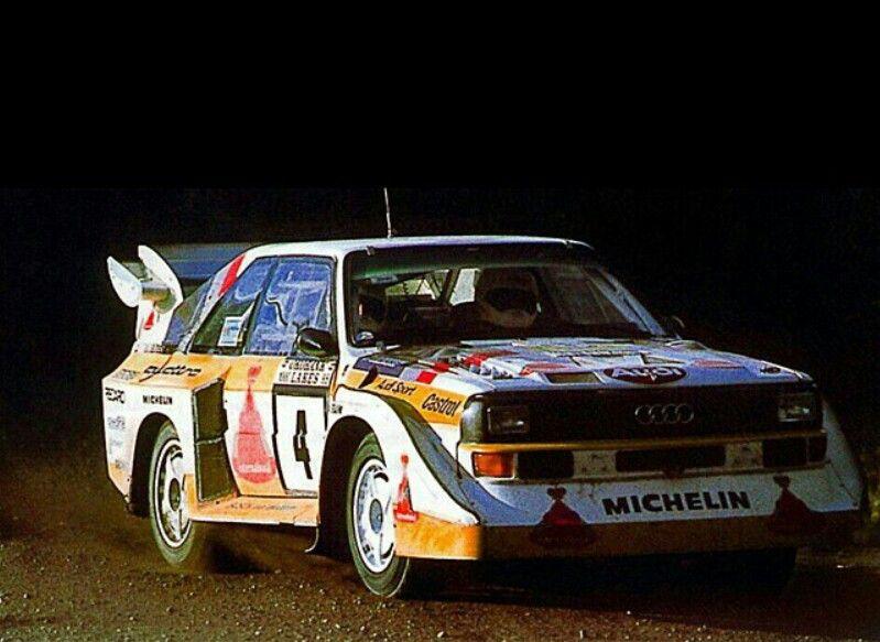 Audi Quattro Group B Rally Car Auto, Gran turismo