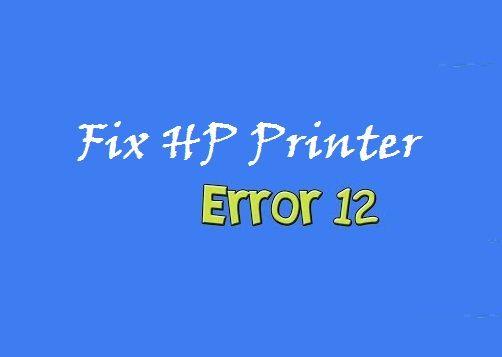 How To Fix HP LaserJet M1005 MFP Scanner Error 12? | Tech