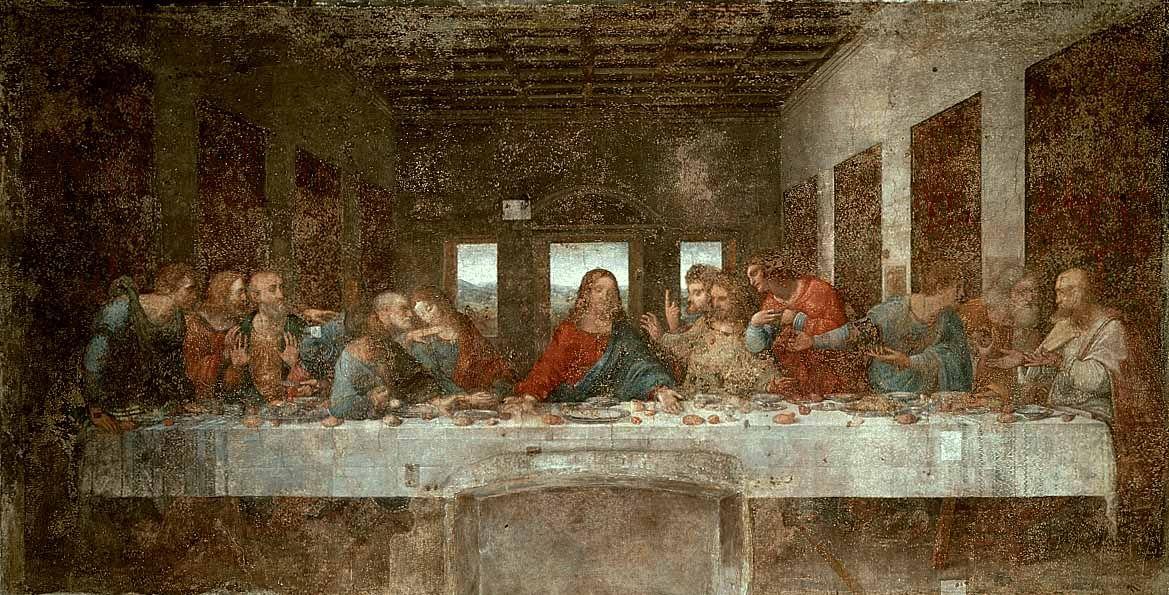 A Ultima Ceia 1498 Leonardo Da Vinci Com Imagens Arte