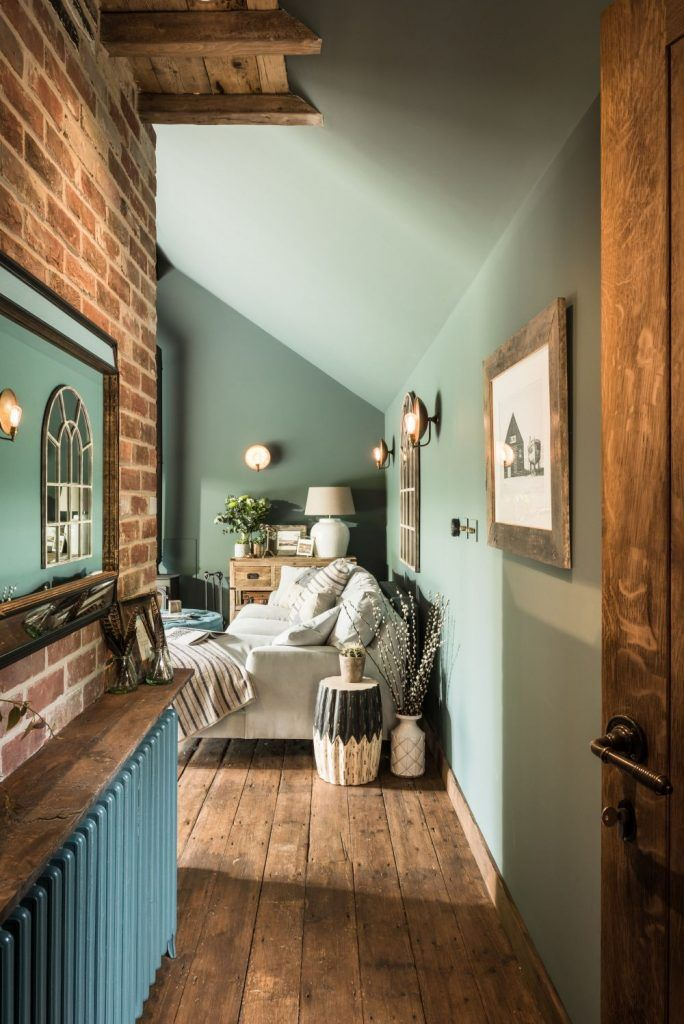 Photo of adelaparvu.com über das kleine Haus in Großbritannien, Türkis und Holz und Ziegel, …