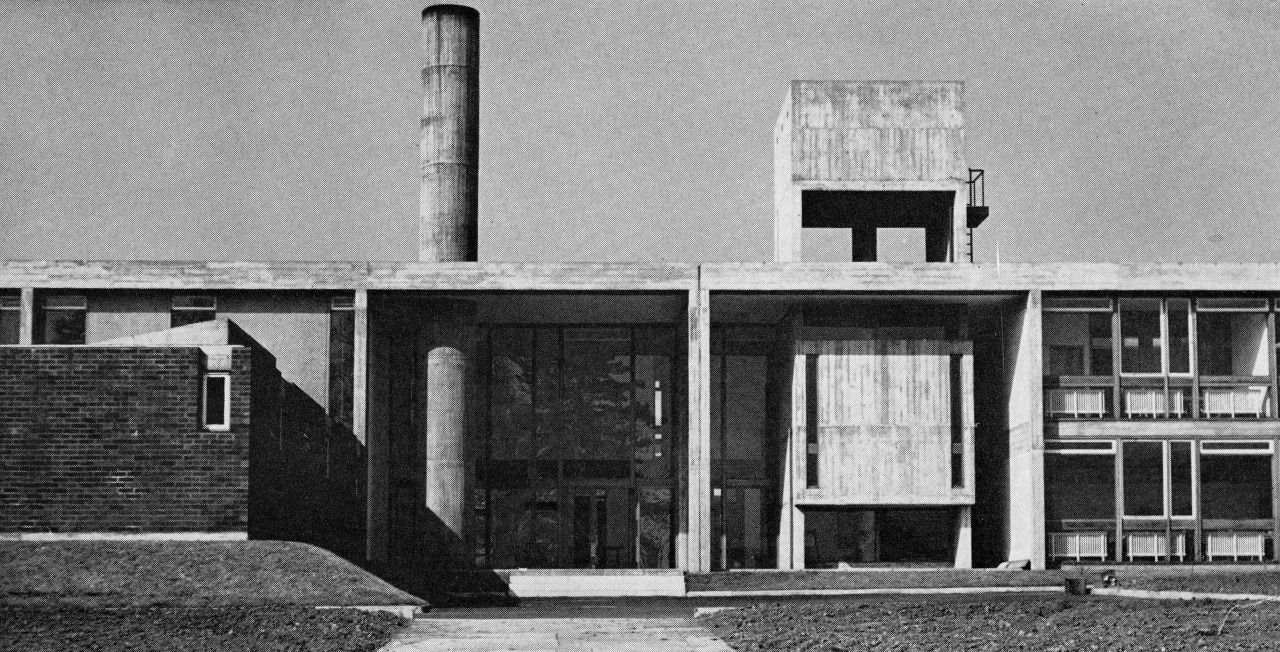 Modern Architecture Alan Colquhoun bridgnorth secondary school for girls, shropshire, uk, 1960 (lyons
