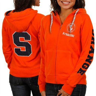 e51c0b98 Syracuse Orange Women's Glitz & Glamour Hoodie - Orange ...