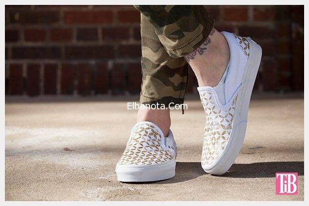 كوتشيات بناتى فلات كوتشيات صيف 2015 جديدة احدث كوتشيات 2015 Diy Floral Shoes Shoe Refashion Tie Dye Shoes