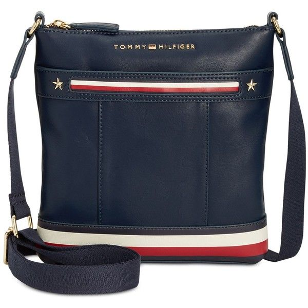 Tommy Hilfiger Larissa Smooth Small Crossbody (16 KWD) ❤ liked on Polyvore  featuring bags f6d238b7412c8