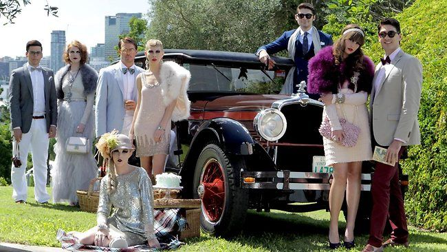 Twenties roaring back to life as The Great Gatsby era returns