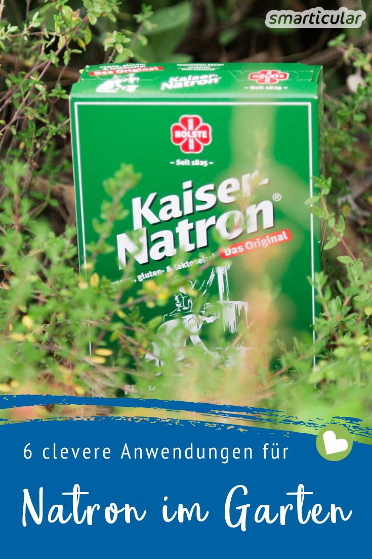 6 Clevere Anwendungen Fur Natron Im Garten Unkraut Im Garten Schadlinge Im Garten Natron