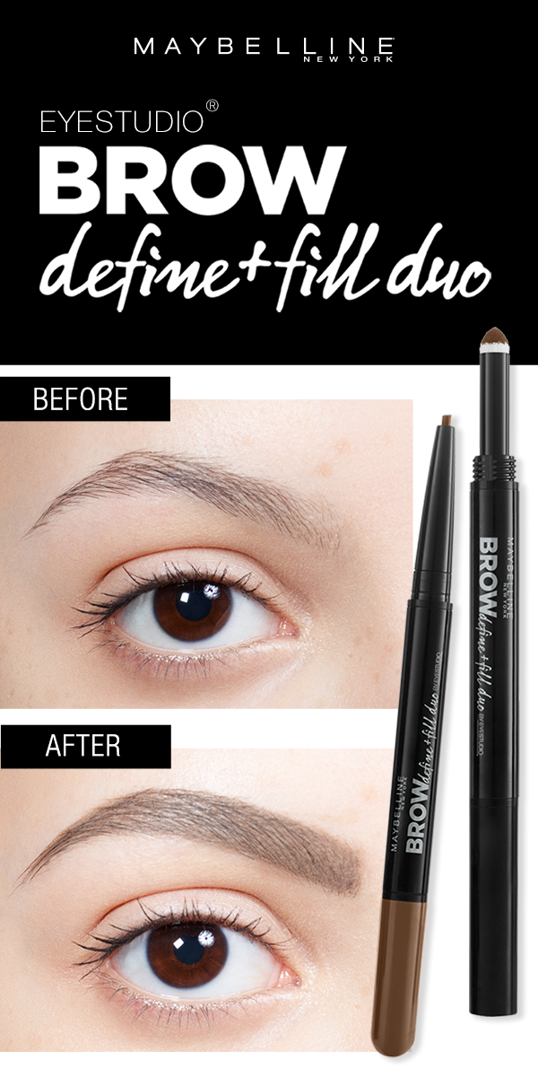 Get Full Smooth Natural Looking Eyebrows Using The Maybelline Brow