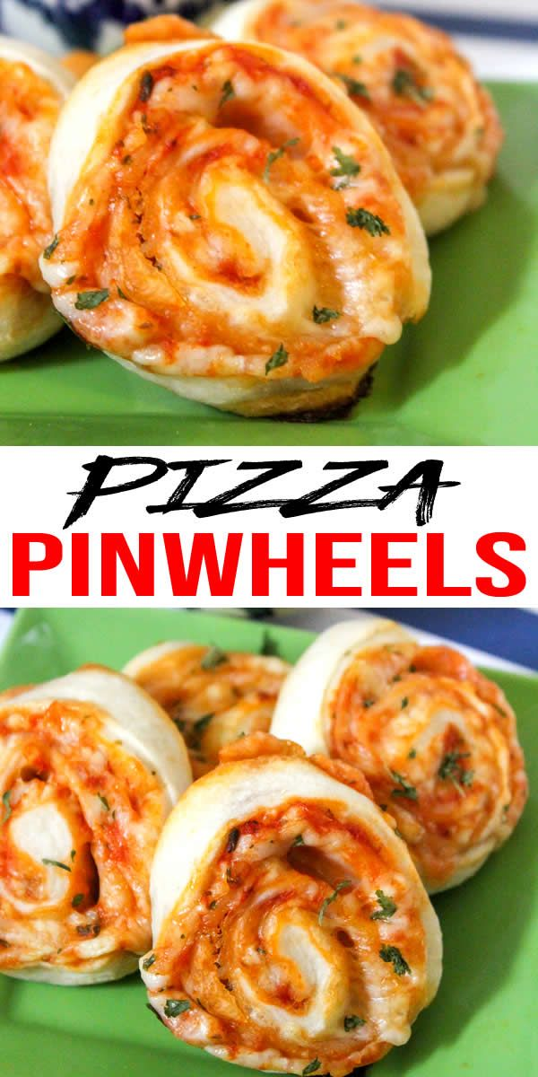 Kids Party Food! BEST Pizza Pinwheels Recipe - Easy - Cheap Ideas