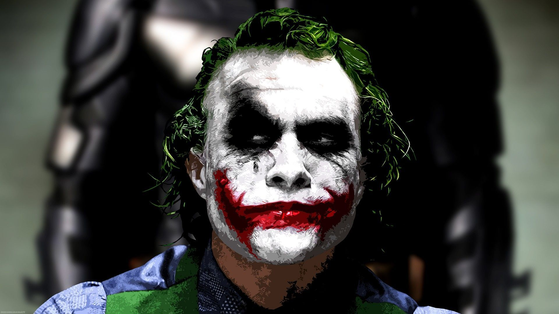 Heath Ledger Joker Wallpapers Wallpaper Cave Joker