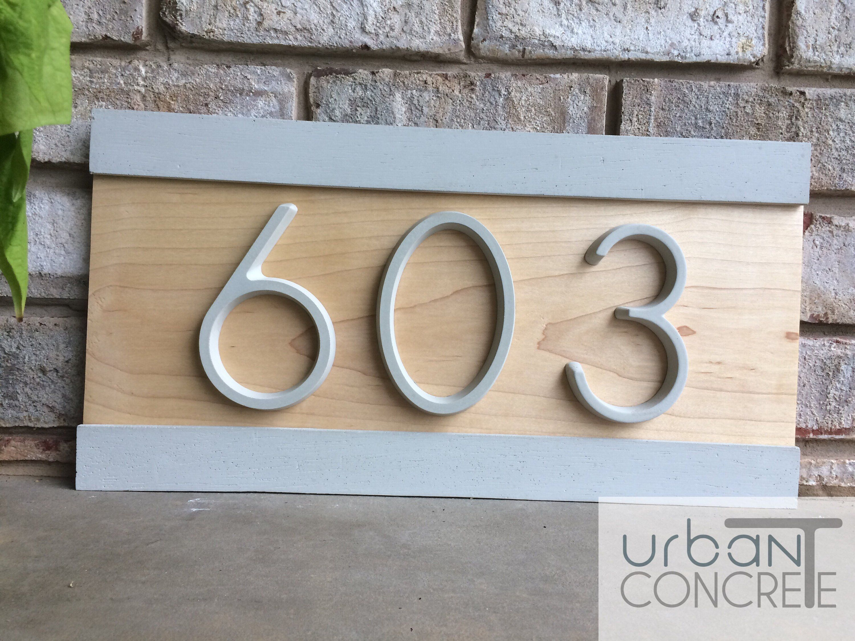 Modern House Numbers House Numbers Sign Address Etsy House Numbers House Number Sign Modern House Number