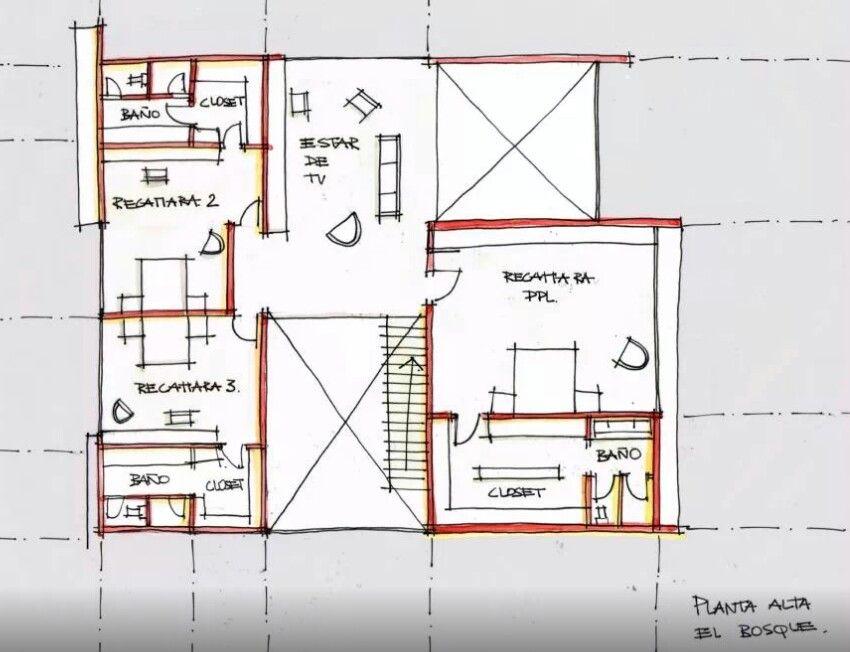 Creato arquitectos fachadas arquitectura moderna for Arquitectura moderna planos