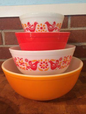 Vintage Pyrex Shenandoah Casserole Dish Set | Pyrex, Vintage pyrex ...