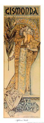 Gismonda Posters by Alphonse Mucha at AllPosters.com